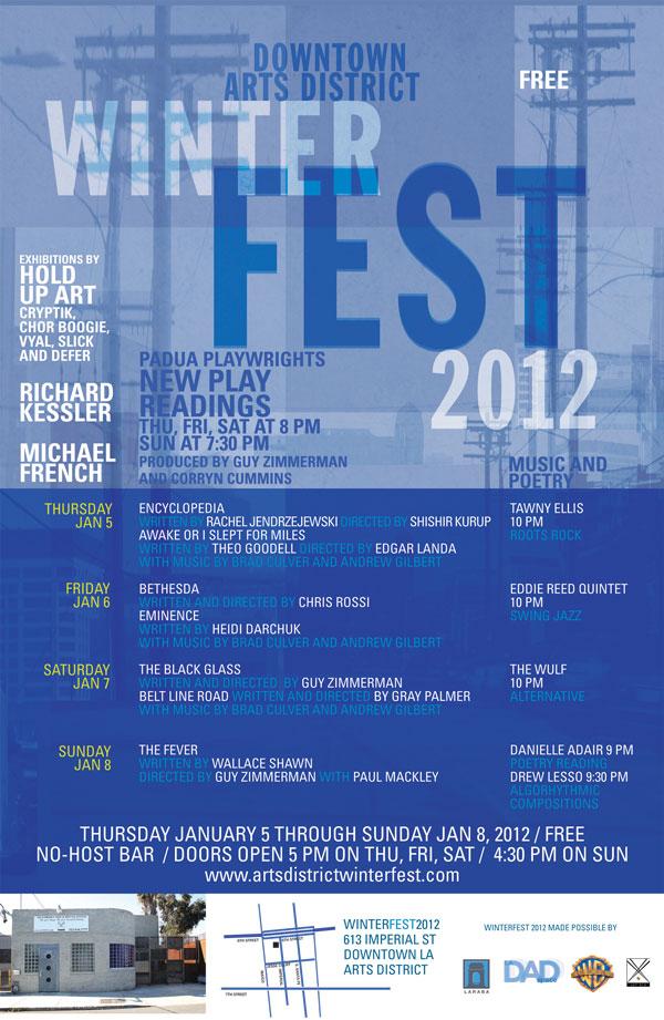 Winterfest 2012 - January 1, 2012