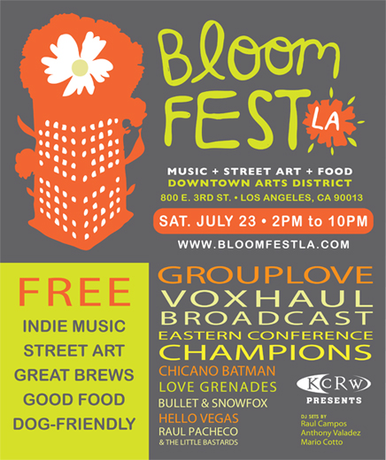 Bloomfest 2011 - April 15, 2012