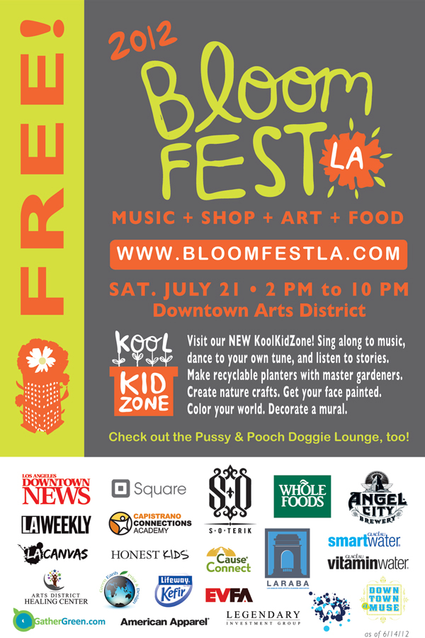 Bloomfest 2012 is this Saturday! - July 4, 2012