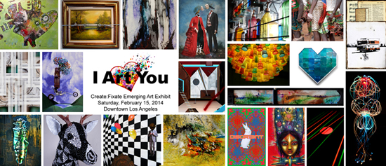 Create Fixate: I Art You! February 15th! - January 31, 2014
