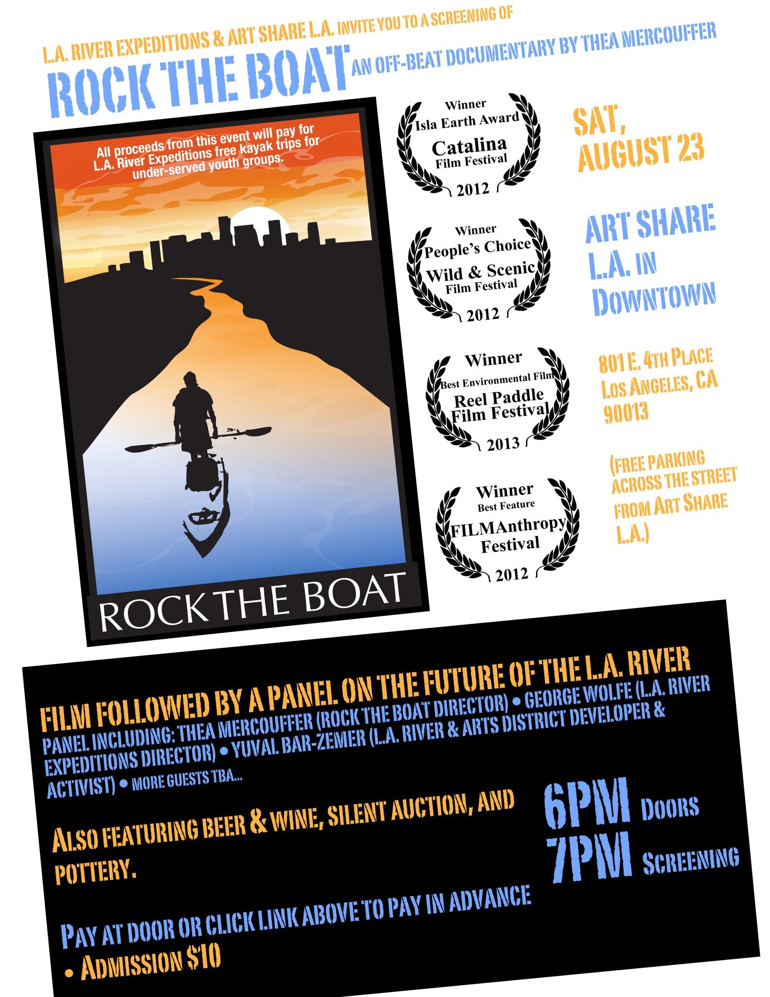 Rock the Boat! - August 10, 2014