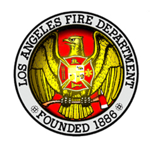 Official seal of the Los Angeles Fire Department