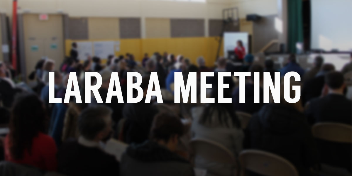 LARABA Meeting - April 18, 2015