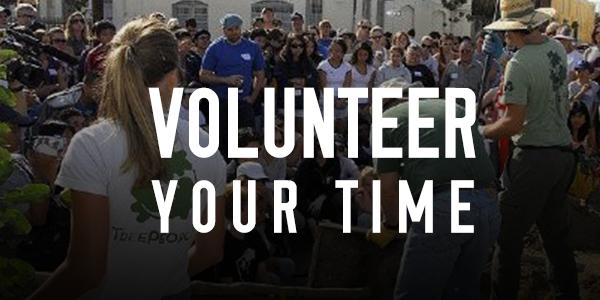 LARABA Volunteer Your Time banner