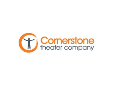 Cornerstone theater company logo.
