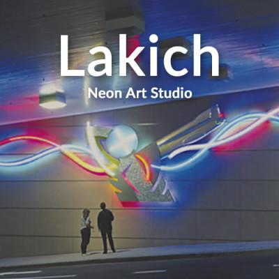 Lakich Neon Art Studio - May 5, 2018