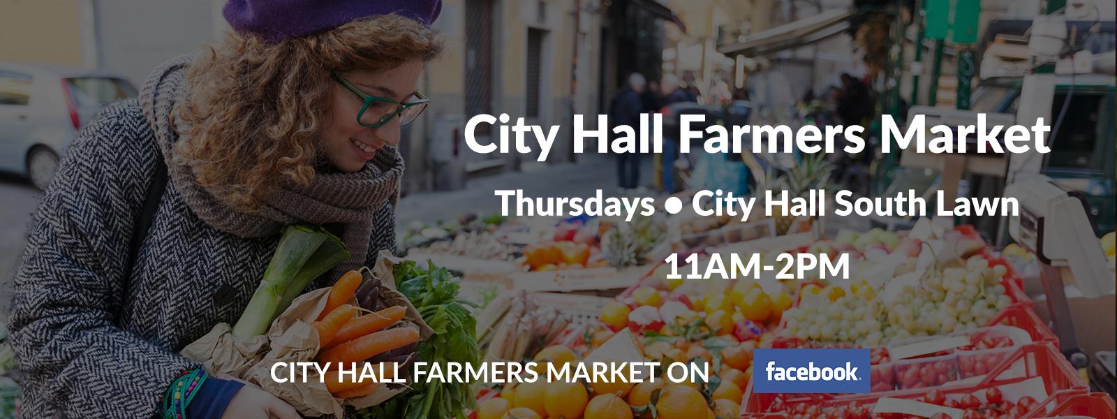 City Hall Farmers Market - July 3, 2015
